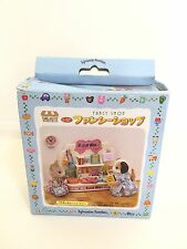 2001 Japan Sylvanian Families (Calico Critters US) Fancy Shop in Box