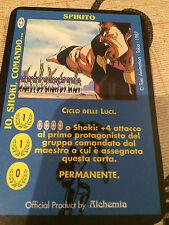 Carte Ken il Guerriero - Spirito - Io, Shoki, Comando