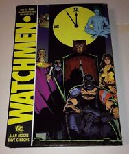 WATCHMEN by Alan Moore & Dave Gibbons DC Hardcover Graphic Novel 2008