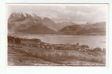 Ben Nevis Loch Linnhe From Above Corpach Village Fort William Inverness RP