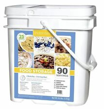 Lindon Farms 90 Serving Grab & Go Bucket Freeze Dried Survival Prepper Food