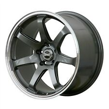 "ULTRALITE ATEC 2 18"" x 9J ET35 5x114.3 GUN METAL ALLOY SINGLE WHEEL x 1 Y3288"