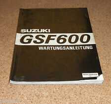 Werkstatthandbuch Suzuki GSF 600 Bandit Stand 03/1995