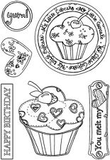 Nitwit Essentials Clear Stamps Set - Hey Cupcake (Unmounted) NEW