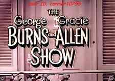 GEORGE BURNS AND GRACIE ALLEN SHOW 245 EPISODES  PLUS GEORGE TV SPECIALS BONUS