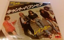 """Rainbow - Can't Happen Here - japanese made import rare 1981 UK 7"""" Single ex"""