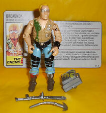 BUZZER (v1) 1985 Series 4 - W/ File Card Dreadnok G.I. Joe GI Hasbro ○ COMPLETO