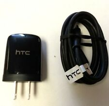 New OEM HTC Tablet Home Wall Charger+USB Cable For EVO View 4G, Flyer,jetstream