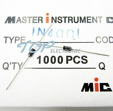 100PCS 1N4001 IN4001 DO-41 1A 50V Rectifier Diodes