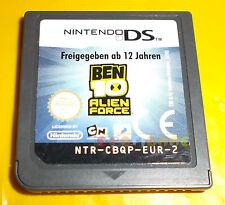 BEN 10 ALIEN FORCE Nintendo Ds Versione Europea ○○○ SOLO CARTUCCIA - BD