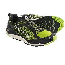 New SCOTT T2 Kinabalu HS Trail Running Shoes  Black/Green US 11.5M, MSRP $140