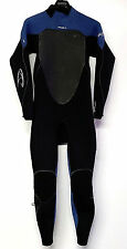 O'NEILL Men's 3/2 PSYCHO 3 Zen-Zip Wetsuit - Blk/Blu - Medium - NWT