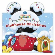 Clubhouse Christmas (Mickey Mouse Clubhouse)-ExLibrary