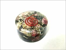 Jet New Multi Tourmaline Orgone Tower Buster Orgonite Piezo Electric EMF