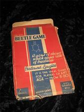 VINTAGE 'BEETLE' GAME CARDS & DICE Universal Publications Ltd 1950s UNUSED