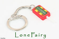 Polymer Clay Mini Drumstick Lolly sweet Keyring Kitsch Retro Food Key Chain