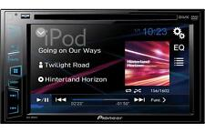"NEW Pioneer Double 2 Din AVH-180DVD DVD/MP3/CD Player 6.2"" Touchscreen AUX USB"