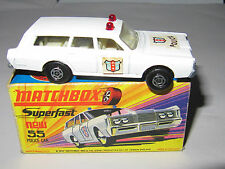 MATCHBOX SUPERFAST No.55 POLICE CAR MIB