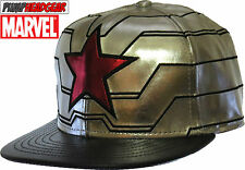 Marvel Comics Winter Soldier Captain America Silver Snapback cap