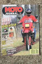 MOTO JOURNAL N°797 HONDA NSR 125 & CRX 500 SUPERMOTARD, SCOTTISH SIX DAYS 1987