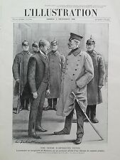 L'ILLUSTRATION 1906 N 3323 L'ARRESTATION DU BOURGMESTRE DE KOEPENICK- Allemagne