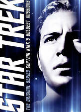 Star Trek: The Original Series - Captain Kirk's Boldest Missions (DVD, 2015,...