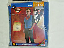 Superman Man of Steel Halloween Costume- Boys Size 10-12 Halloween Costume
