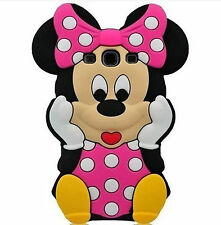 3D Funny Cute Cool Kids Silicone Rubber Soft Case Cover For Samsung Apple Phones