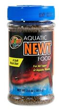 ZOO MED AQUATIC NEWT SOFT MOIST FOOD 2 OZ FREE SHIPPING IN THE USA ONLY