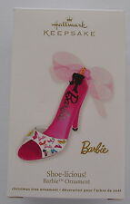 Hallmark 2012 Barbie Shoe Licious High Heel Christmas Keepsake Ornament