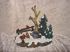 Lemax Landscape Accent Trees Rabbits Bird Village Accessory 2001