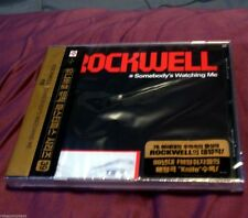 ROCKWELL - SOMEBODY'S WATCHING ME - CD - Featuring  MICHAEL JACKSON