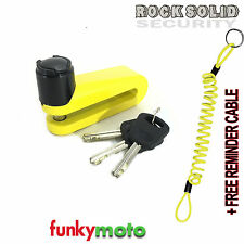 ROCKSOLID Warlock DISCLOCK DISK LOCK 5.5 MM PIN FREE REMINDER CABLE FREE COVER