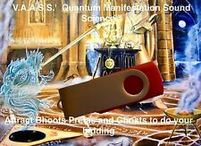 Attract & Control Bhoots Pretas Ghosts Spirits Quantum Sound Science MP3 USB