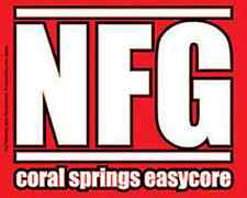 NEW FOUND GLORY Coral Springs Easycore Sticker NEW MERCHANDISE OFFICIAL RARE