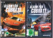 Allarme per Cobra 11 Highway Nights + Allarme per Cobra 11 Crash Time raccolta PC