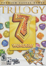 7 WONDERS TRILOGY - All 3x Puzzle PC Games - Seven Wonders 1, 2  & 3 - BRAND NEW