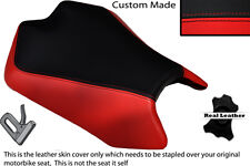 RED & BLACK CUSTOM FITS APRILIA TUONO V4 V4R APRC 1000 11-13 FRONT SEAT COVER