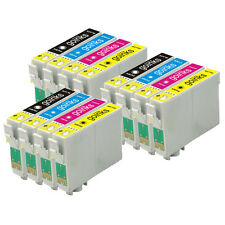 12 Cartouche d'encre pour Epson Stylus D712 DX5000 DX8400 SX115 SX405 DX4450
