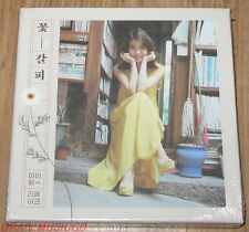 IU 꽃갈피 SPECIAL REMAKE RE-MAKE ALBUM K-POP CD WITH FOLDED POSTER NEW