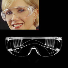 New Work Safety Glasses Clear Eye Protection Wear Spectacles Goggles CC