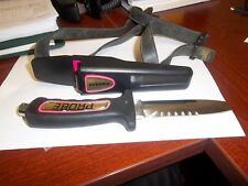 Oceanic Probe Stainless Ladies Dive Knife with Leg Strap