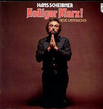 Hans Scheibner - Heiliger Marx! Neue Lästerlieder / LP & Textblatt