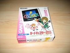Game Boy Color Cardcaptor Sakura Japan Console New In Box