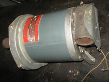 shopsmith mark 5 Greenie motor  pulley sleeves spring 3/4 HP RUNS WELL 110 VOLT