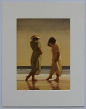 "Trailing Toes by Jack Vettriano Mounted Art Print 10"" x 8"""