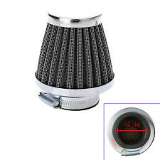 35MM Motorcycle Motor Power ATV Scooter Air Intake Filter Replacement Sales