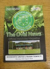 25/08/2014 Bedworth United v Rugby Town [1st Match On 3G Pitch] .  We are please