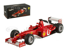 FERRARI F2002 M. SCHUMACHER FRANCE GP 2002 ELITE EDITION 1/43 BY HOTWHEELS X5513