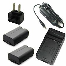 Charger + 2x Battery for Panasonic NV-DS150 NV-DS200 NV-DS990 NV-EX1 NV-EX3